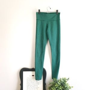 BP green and black ankle length workout leggings
